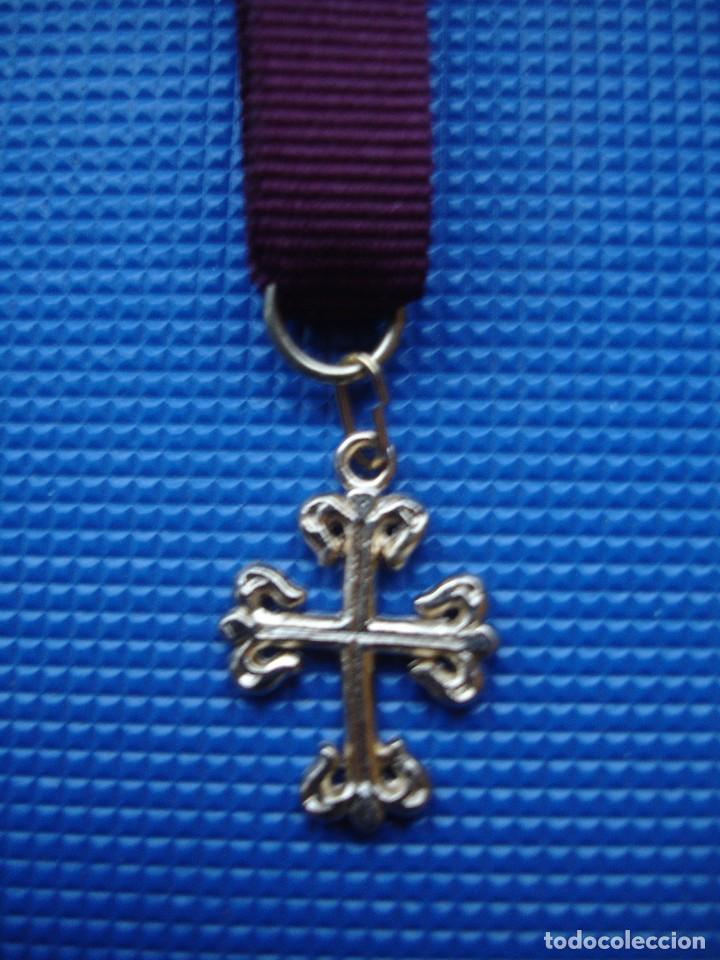 Militaria: MEDALLA MINIATURA ORDEN DE CALATRAVA - Foto 3 - 122925847