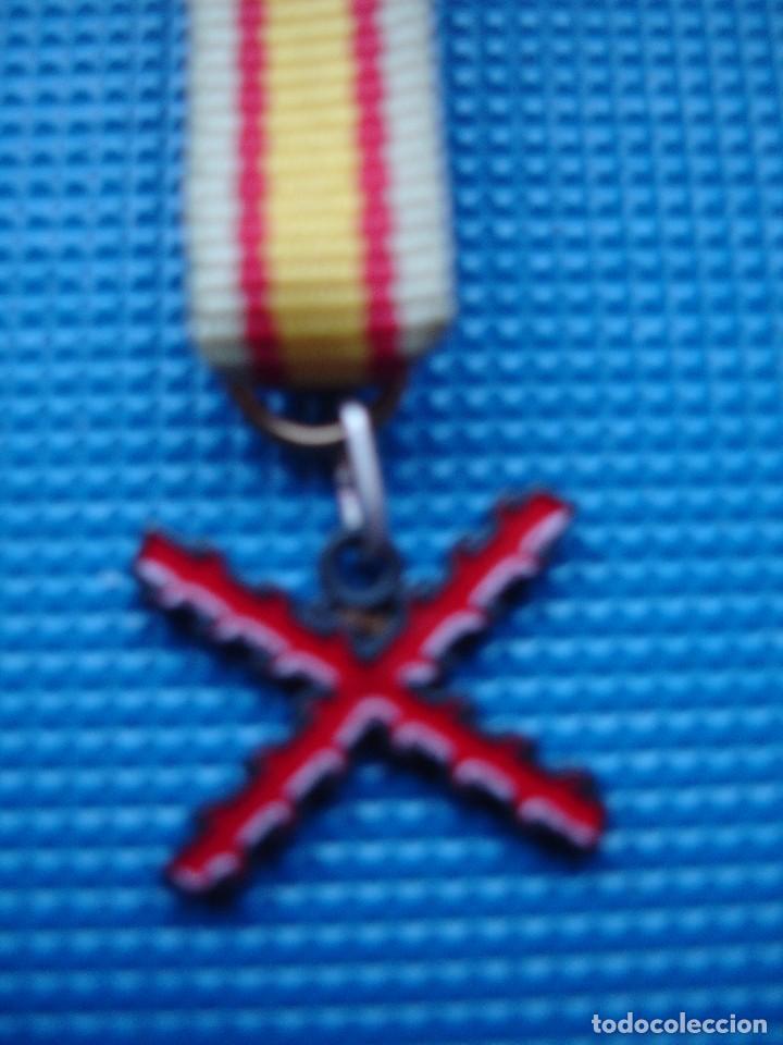 Militaria: MEDALLA MINIATURA TERCIOS ESPAÑOLES - Foto 3 - 122926299