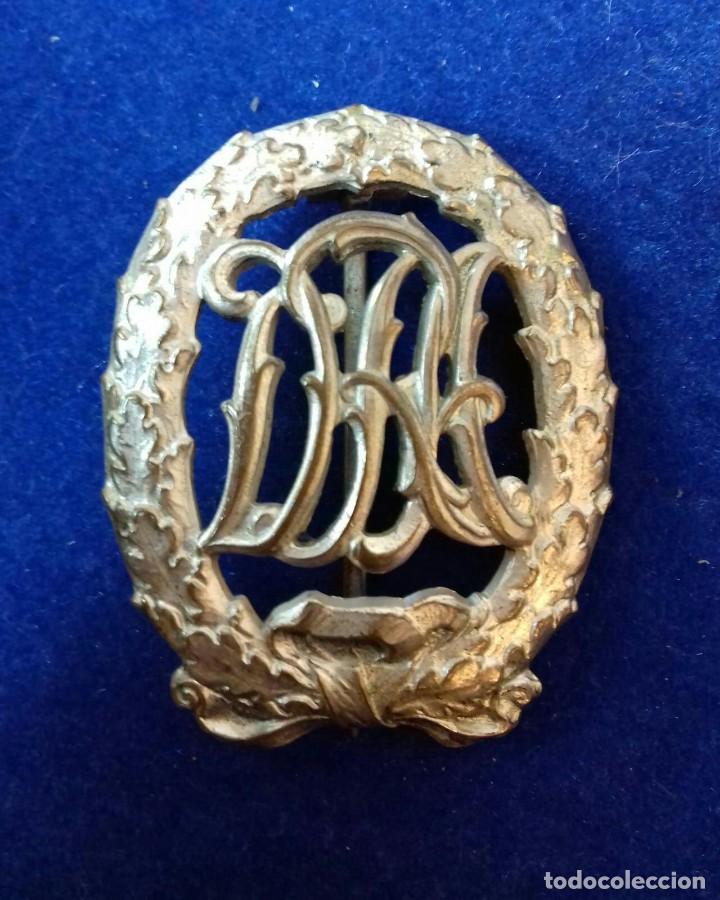 PLACA DRA ORO TERCER REICH ORIGINAL (Militar - Medallas Extranjeras Originales)