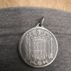 Militaria: ANTIGUA MEDALLA DE PLATA FRANQUISTA, PRECIOSA, CEMENTOS CANARIAS TEIDE, ORIGINAL. INAGURACION 1959. Lote 123799495