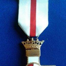 Militaria: MERITO MILITAR 1ª CLASE DISTINTIVO BLANCO PENSIONADO EPOCA DE FRANCO. Lote 124219295