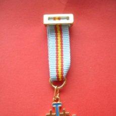 Militaria: ORDEN DEL SANTO SEPULCRO MEDALLA MINIATURA. Lote 124326575