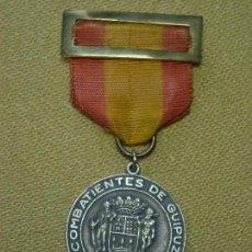 Militaria: MEDALLA GUERRA CIVIL VOLUNTARIOS DE GUIPUZCOA. Lote 125208551
