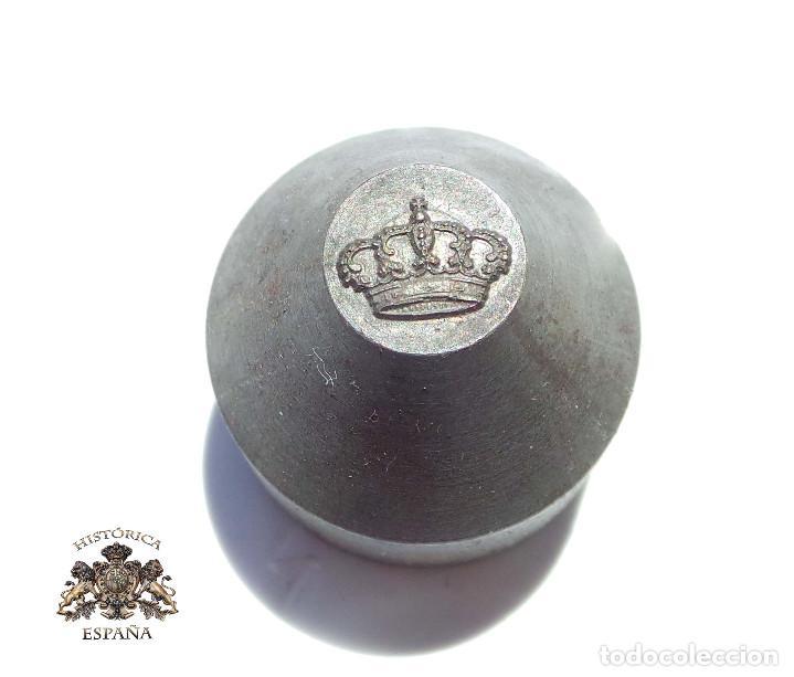 TROQUEL MATRIZ .- CORONA REAL (Militar - Medallas Españolas Originales )
