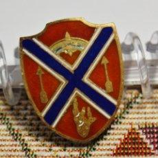 Militaria: INSIGNIA PLATA MACIZA.175º REGIMIENTO DE ARTILLERIA DE CAMPO DE ESTADOS UNIDOS.2ª GUERRA MUNDIAL.. Lote 125330567