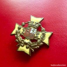 Militaria: PLACA MÉDICO DEL BANDO REPUBLICANO - GUERRA CIVIL - CRUZ MALTA. Lote 125381834