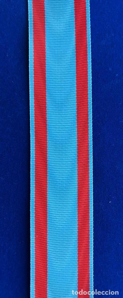 CINTA MEDALLA BENEMERITO DE LA PATRIA (Militar - Cintas de Medallas y Pasadores)