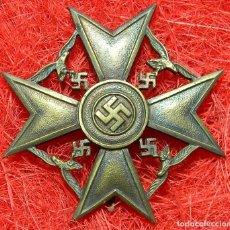 Militaria: LEGIÓN CONDOR SPANIENKREUZ SIN ESPADAS. CATEGORIA BRONCE. MEDIDAS: 63 X 63 MM - BUNTMETALL. Lote 145528677