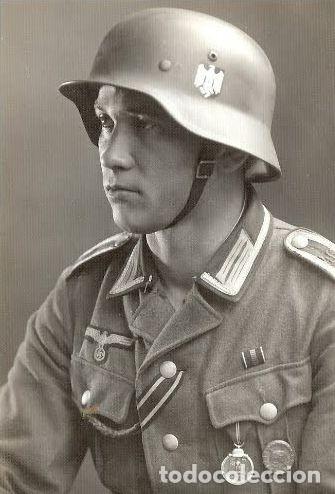 Militaria: Campaña de Invierno. Frente del Este. Winterschlacht im Osten 1941/42 medaille. Diametro: 35 mm - Foto 3 - 161144504