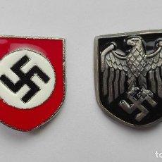 Militaria: WWII GERMAN PITH HELMET INSIGNIA. Lote 126094303