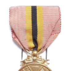 Militaria: BÉLGICA: MEDALLA CONMEMORATIVA DEL REY LEOPOLDO II (1865 – 1909). Lote 126153239