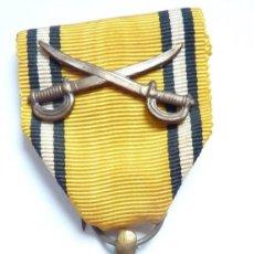 Militaria: BÉLGICA: MEDALLA DE LA VICTORIA CON ESPADAS - CONMEMORATIVA DE LA SEGUNDA GUERRA MUNDIAL 1940 - 1945. Lote 126158723