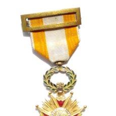 Militaria: CRUZ DE LA ORDEN DE ISABEL LA CATÓLICA. ÉPOCA ISABEL II.. Lote 183698685