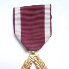 Militaria: BÉLGICA: MEDALLA DE LA ORDEN DE LA CORONA - PALMAS DE ORO. 25 AÑOS DE SERVICIO. Lote 126174043