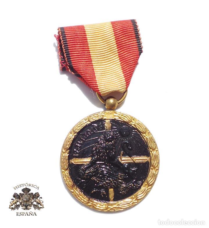 MEDALLA DE LA CAMPAÑA GUERRA CIVIL - 17 JULIO 1936 (Militar - Medallas Españolas Originales )