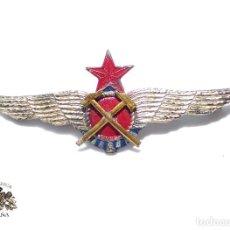 Militaria: ROKISKI DE AVIACIÓN REPÚBLICANA - MECÁNICO - EJERCITO POPULAR - ORIGINAL GUERRA CIVIL. Lote 126194603