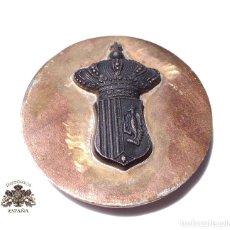 Militaria: PRUEBA. MUESTRA DE TROQUEL ESCUDO. Lote 126591743