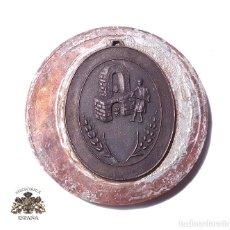 Militaria: PRUEBA. MUESTRA DE TROQUEL MEDALLA. Lote 126591799