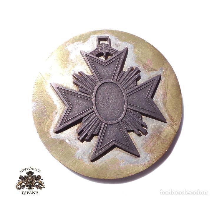 PRUEBA. MUESTRA DE TROQUEL. MEDALLA 8 CM DE DIÁMETRO (Militar - Medallas Españolas Originales )