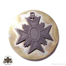 Militaria: PRUEBA. MUESTRA DE TROQUEL. MEDALLA 8 CM DE DIÁMETRO. Lote 126591983