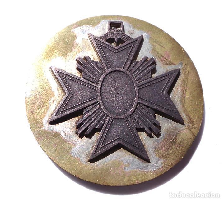 Militaria: PRUEBA. MUESTRA DE TROQUEL. MEDALLA 8 CM DE DIÁMETRO - Foto 2 - 126591983