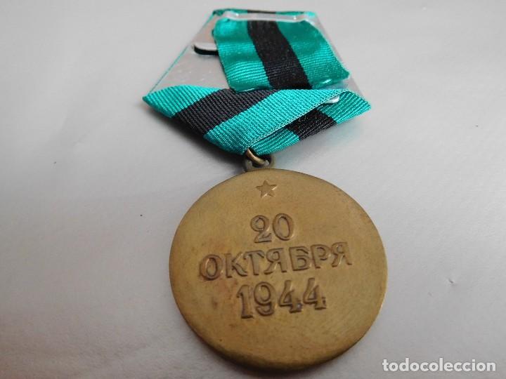 Militaria: Medalla soviética por la liberación de Belgrado - Foto 2 - 126631427