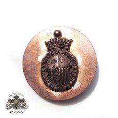 Militaria: PRUEBA. MUESTRA TROQUEL MEDALLITA CORTES DE ARAGÓN. Lote 126671759