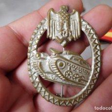 Militaria: MEDALLA ALEMANA ASALTO DE TANQUES. Lote 126724107