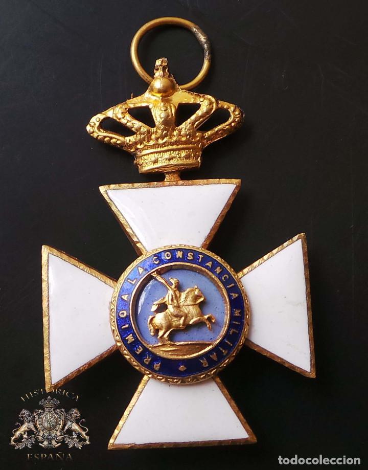 CRUZ DE LA REAL Y MILITAR ORDEN DE SAN HERMENEGILDO (Militar - Medallas Españolas Originales )