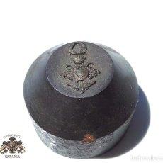 Militaria: TROQUEL, MATRIZ .- MEDALLA MINIATURA DEL MÉRITO CIVIL. Lote 126961463