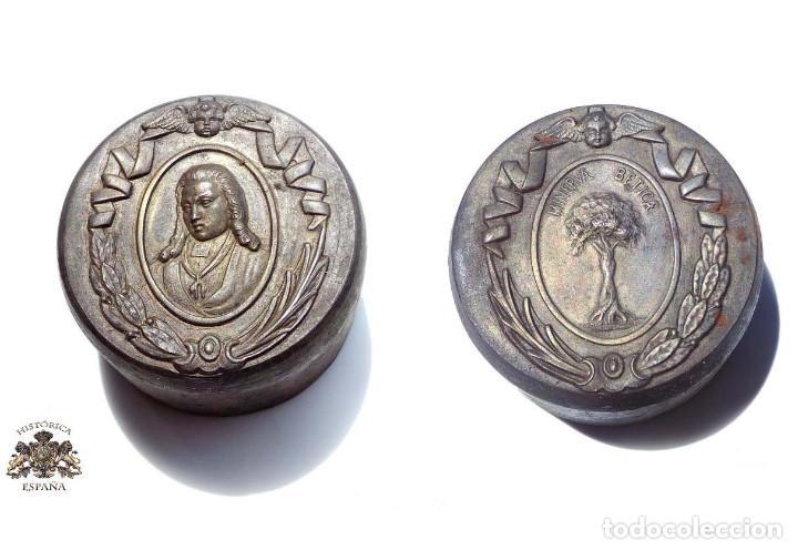 TROQUEL, MATRIZ .- MEDALLÓN MINERVA BÉTICA. SEVILLA (Militar - Medallas Españolas Originales )