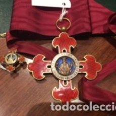 Militaria: ENCOMIENDA ORDEN ALFONSO X EL SABIO Y PIN OJAL. Lote 127176663