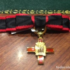 Militaria: MINI LAZO ORDEN DE LA NOBLEZA CATALANA. Lote 127208123