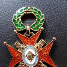Militaria: 35 AÑOS DE SERVICIO POLICIA MUNICIPAL LOCAL DE GERONA. Lote 127293351