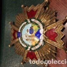 Militaria: GRAN PLACA DE LA ORDEN DE ISABEL LA CATOLICA. Lote 127497579
