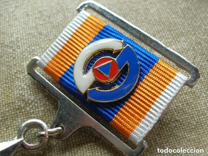 Militaria: ORDEN UCRANIANA AL HEROISMO EN CHERNOBYL. PROTECCIÓN CIVIL. AL HEROE DE CHERNOBYL. RARA. - Foto 2 - 186337025