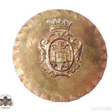 Militaria: PRUEBA. MUESTRA DE TROQUEL.- MEDALLÓN. Lote 127635795