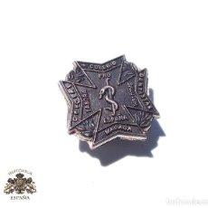 Militaria: PRUEBA. MUESTRA DE TROQUEL.- MEDALLA INSIGNIA COLEGIO DENTISTAS DE MÁLAGA. Lote 127637031
