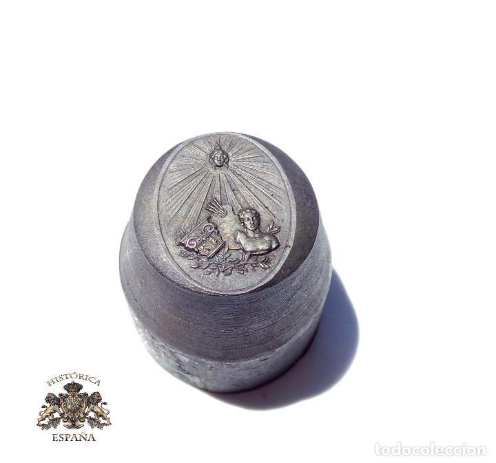 TROQUEL, MATRIZ .- MEDALLA BELLAS ARTES (Militar - Medallas Españolas Originales )