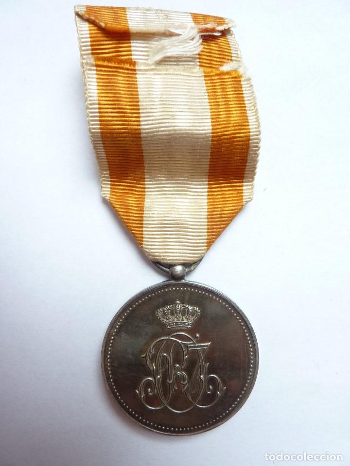 Militaria: Medalla de la Orden de Isabel la Católica -Categoría de plata-. Muy rara. Alfonso XIII - Foto 4 - 128071539