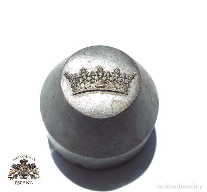 TROQUEL, MATRIZ .- PARA CORONA IMPERIAL 2,7 CM ANCHO (Militar - Medallas Españolas Originales )
