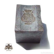 Militaria: TROQUEL.- DISTINTIVO MUSICOS DE MADRID REPÚBLICA. Lote 128149547