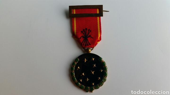 MEDALLA FALANGE VIEJA GUARDIA EXP 38668 DE 1936 ORIGINAL EXCELENTES ESMALTES (Militar - Medallas Españolas Originales )