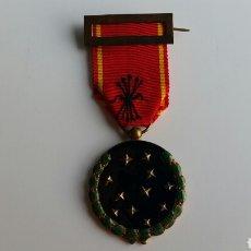 Militaria: MEDALLA FALANGE VIEJA GUARDIA EXP 38668 DE 1936 ORIGINAL EXCELENTES ESMALTES. Lote 128231547