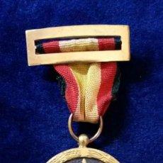 Militaria: CONDECORACION ORIGINAL 17 JULIO 1936. UNA GRANDE LIBRE IMPERIAL-ARRIBA ESPAÑA. MEDALLA. CINTA NEGRA. Lote 128314563