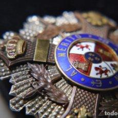 Militaria: PLACA MARIA CRISTINA AL MERITO NAVAL.. Lote 128443751