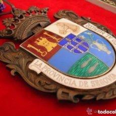 Militaria: MEDALLA DE LA DIPUTACIÓN PROVINCIAL DE SEGOVIA. EN SU ESTUCHE ORIGINAL. EXCELENTE CALIDAD. AÑO 1973. Lote 128594267