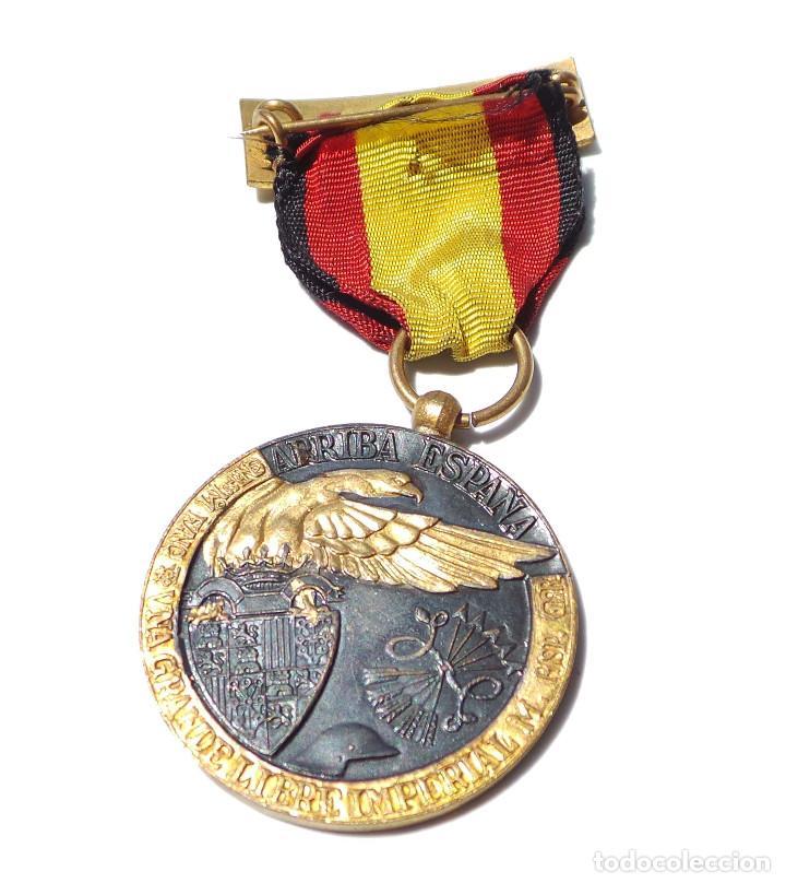 Militaria: MEDALLA DE LA CAMPAÑA GUERRA CIVIL - 17 JULIO 1936 - INDUSTRIAS EGAÑA - Foto 4 - 128605811