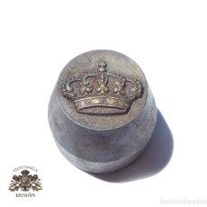 Militaria: TROQUEL, MATRIZ .- CORONA REAL.- CORONA 2,7 CM ANCHO. Lote 128614711