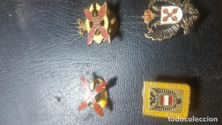 Militaria: MEDALLA MILITAR GUARDIA DE FRANCO CARLISTA E INSIGNIAS CARLISTAS REQUETE - Foto 4 - 128821307